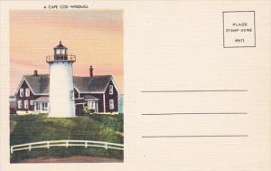 Massachusetts Cape Cod A Cape Cod Lighthouse