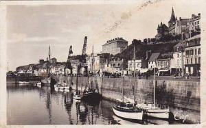 RP; Granville , France , 30-40s - Le Port et Quai d'Orleans