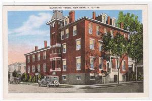 Oaksmith House New Bern North Carolina linen postcard