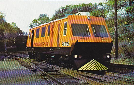 Amtrak's Track Geometry Car #N68401 (Road #TC8401), Was Built by Plasser Amer...