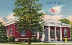 Post Office, CHERAW, South Carolina, 1930-1940s