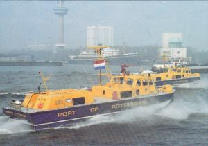 HM2 Sidewall Hovercraft , Fire & Rescue Craft , ort of Rotterdam , Netherland...
