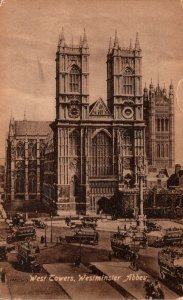England London Westminster Abbey West Tower