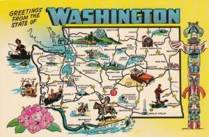 Map , Washington , 50-60s #1