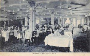 LP41   Indianapolis Indiana Vintage Postcard Grand Hotel Cafe