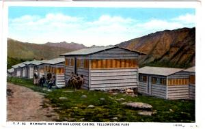 BLOOM, YP82, Mammoth Hot Springs Lodge Cabins, Yellowstone National Park