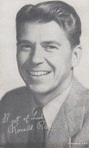 Ronald Reagon as an actor , 50-60s