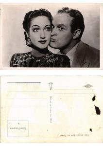 CPA AK Dorothy Lamour and Bob Hope FILM STAR (554044)