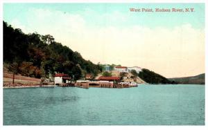 New York  West Point   Ferry Dock on Hudson