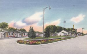 CHOTEAU, Montana, 1930-1940's; Motel Bella Vista, Highway 89