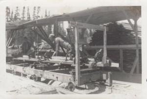 RP: Logging Camp #22 , Minn. , 1900-10s ; View 2