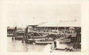 RP: LONG BEACH , California , 1920-30s ; Pico Street Navy Landing