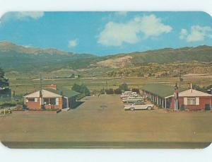 Unused Pre-1980 MOTEL SCENE Colorado Springs CO B6273
