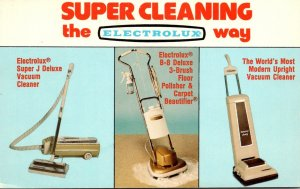 Advertising Electrolux Vacuum Cleaners