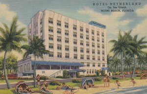 MIAMI BEACH, Hotel Netherland, Florida, 30-40s