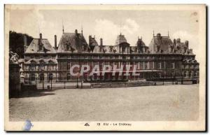 Old Postcard Eu Le Chateau