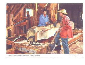 Interior Workshop, Upper Canada Village, Morrisburg Ontario,