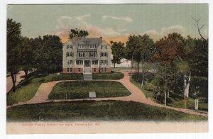Farmington, Me, Abboth Family School for Boys