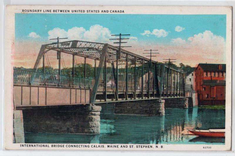 International Bridge, St Stephen NB