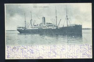RPD LNECKAR NORDD LLOYD BREMEN GERMANY VINTAGE SHIP BOAT POSTCARD 1902