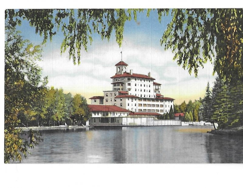 View of Broadmoor Hotel from the Lake Pike's Peak Region Colorado
