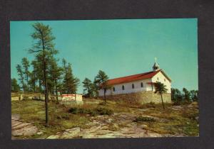 ON Martyrs' Church Pickerel French River Ontario Canada Postcard Carte Postale