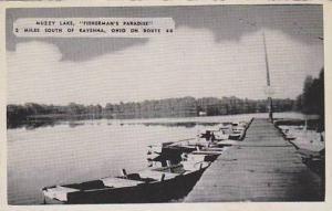 Ohio Ravenna Muzzy Lake Fisherman's Paradise  Dexter Press Archives