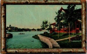 VINTAGE POSTCARD - Antique 1920s Thousand Island Scenic View NY Postcard
