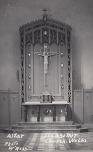 RP WELLS, England, UK, 1930-50s ; Altar , St Casmit Church