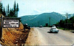 Idaho Bitterroot Mountains Lookout Pass On Highway 10
