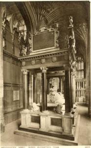 UK - England, London, Westminster Abbey, Queen Elizabeth's Tomb