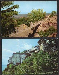 (2) Tennessee ROCK CITY GARDENS Observation Point High Falls Swing Along Bridge