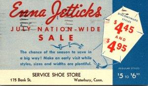 Connecticut Waterbury Enna Jetticks Service Shoe Store 1942