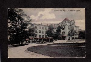 CT Vintage Wononso House Lakeville Conn Connecticut Postcard