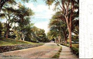 Massachusetts Lancaster Street Scene 1908