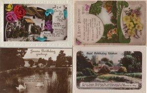 Country Homes River Farm Water Views 4x RPC Greeting Postcard s