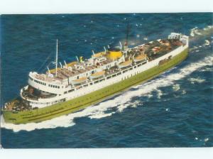Pre-1980 FERRYBOAT SCENE Borden Pei To Cape Tormentine New Brunswick NB AF3991