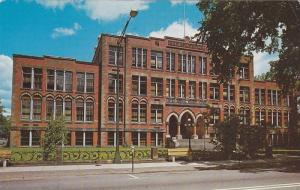 Front view,  Teacher College,  Fredericton,  New Brunswick,   Canada,  40-60s