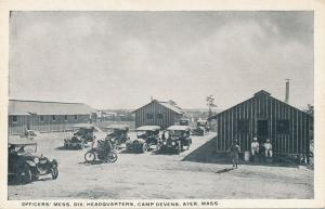 Officers' Mess Hall and Div. Headquarters - Camp Devons, Ayer MA, Massachusetts