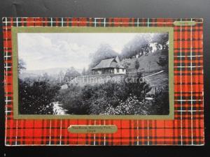 Scotland: CRIEFF Tea Rooms at Macrosty Park c1910 by Davidsons