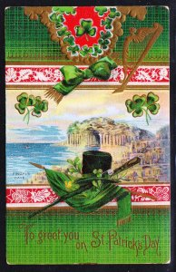St. Patricks Day Greeting - Fingal's Cave