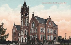 LONDON , Ontario , Canada , PU-1910 ; Normal School