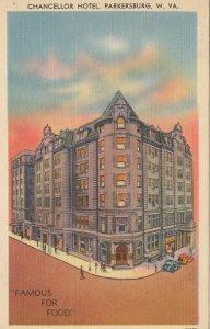 PARKERSBURG , West Virginia , 30-40s ; Chancellor Hotel
