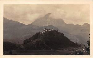 9969  Switzerland  Aerial view of Castle  Gruyeres  RPC