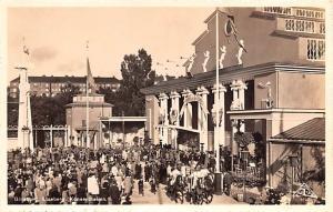 Sweden Old Vintage Antique Post Card Liseberg Konserthallen Goteborg Unused