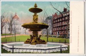 Brewer Fountain, Boston MA