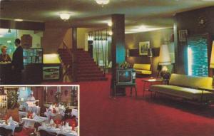Interior, Astor Motor Hotel, Burnaby,  B.C.,  Canada,  40-60s