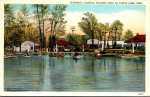 Ohio Russell's Point On Indian Lake Schlegel's Landing Curteich