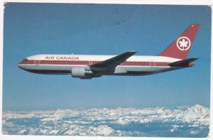 AIR CANADA Boeing 767  Jet Airplane , PU-1986