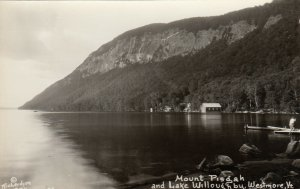 RP: WESTMORE , Vermont ,  1910-20s ; Mount Pisgah and Lake Willoughby